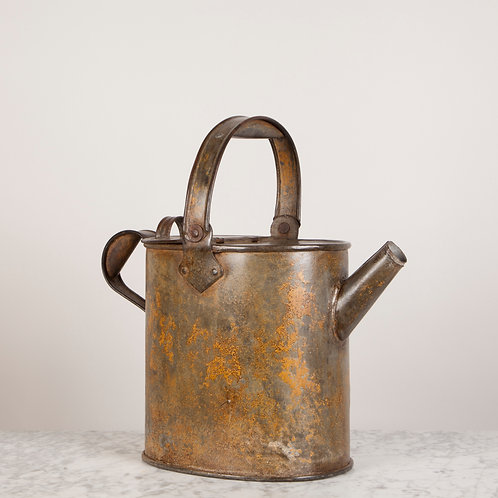 VICTORIAN HOT WATER CAN WITH WONDERFUL PATINA