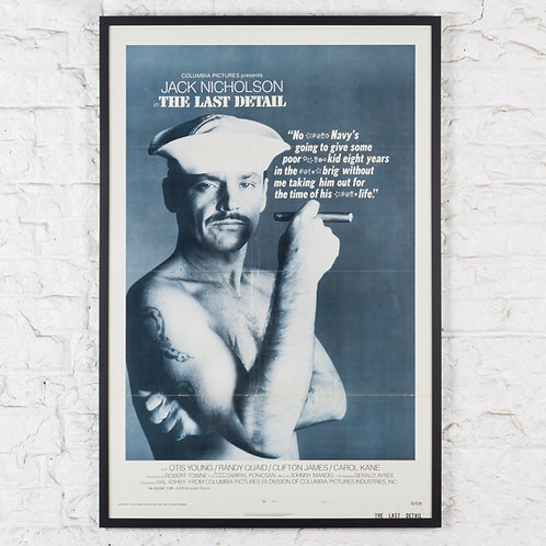 THE LAST DETAIL - JACK NICHOLSON, ORIGINAL US ONE-SHEET FILM POSTER