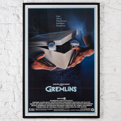 GREMLINS - ORIGINAL US ONE-SHEET FILM POSTER