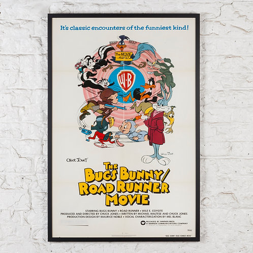 THE BUGS BUNNY / ROAD RUNNER MOVIE - ORIGINAL US ONE-SHEET FILM POSTER