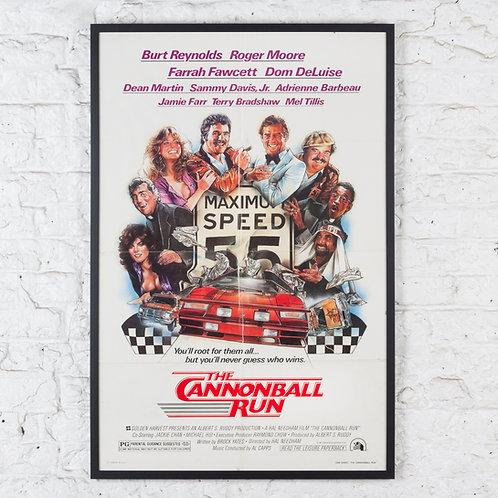 THE CANNONBALL RUN - ORIGINAL FILM POSTER