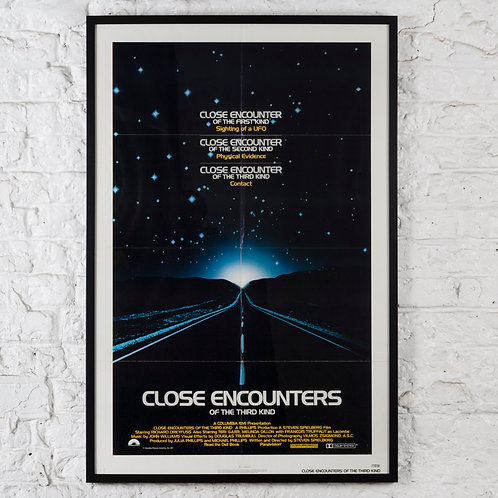 CLOSE ENCOUNTERS OF THE THIRD KIND - ORIGINAL FILM POSTER