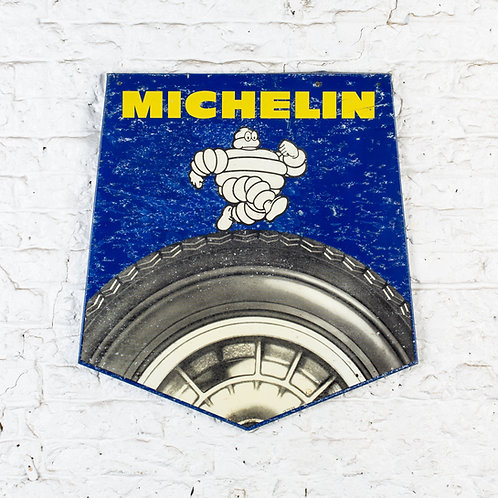 MICHELIN TYRE SERVICE - PICTORIAL TIN ADVERTISING SIGN