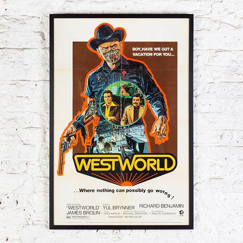 WESTWORLD - ORIGINAL US ONE-SHEET FILM POSTER