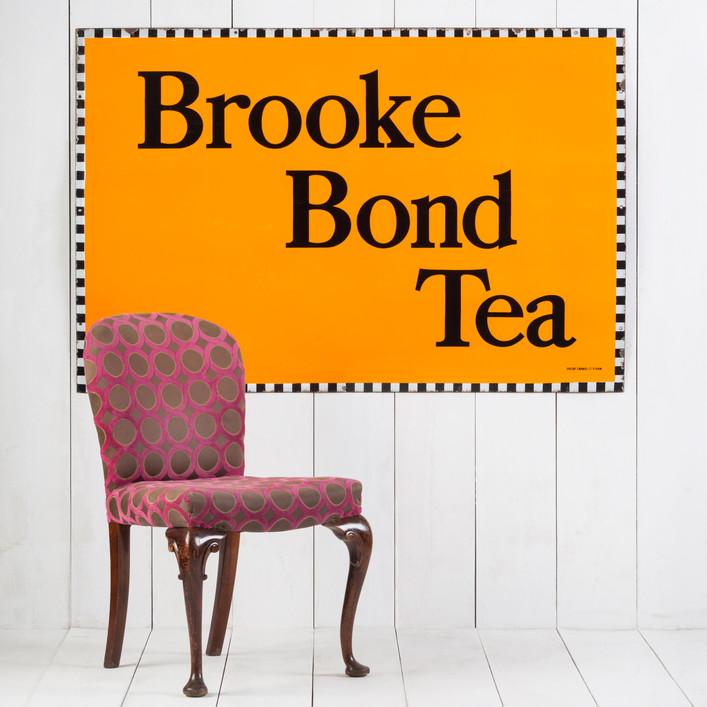 BIG BROOKE BOND TEA ENAMEL SIGN