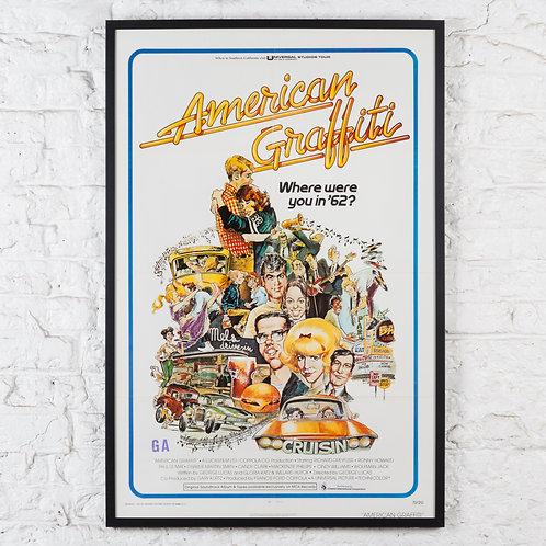 AMERICAN GRAFFITI - ORIGINAL US ONE-SHEET FILM POSTER