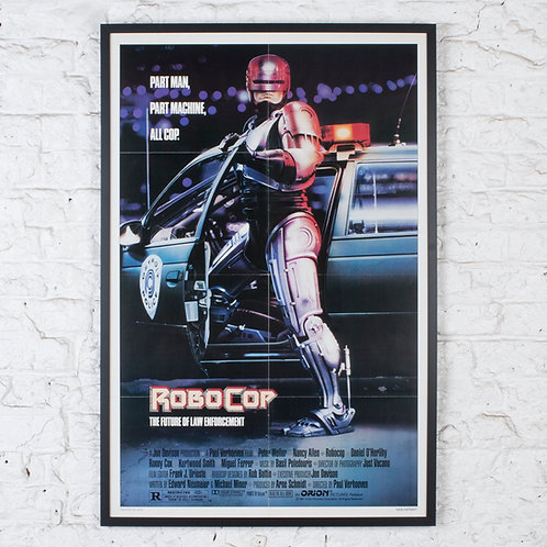 ROBOCOP - ORIGINAL US ONE-SHEET FILM POSTER