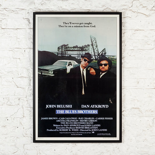THE BLUES BROTHERS - ORIGINAL US FILM POSTER