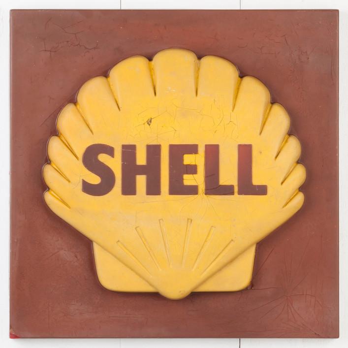3D SHELL PETROL SIGN