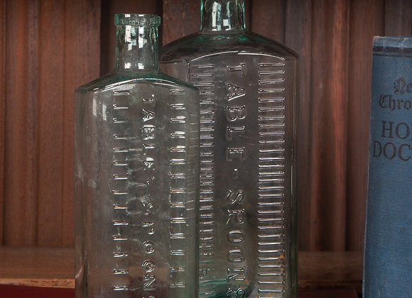 Two Late Victorian Pharmacy Dispensing Bottles