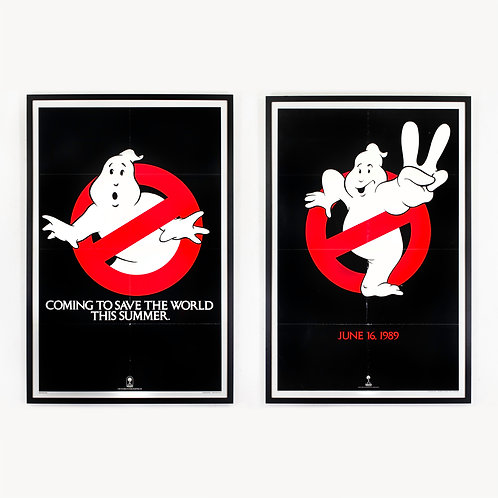 GHOSTBUSTERS 1 + 2 (1984 + 1989)