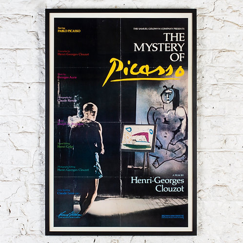 THE MYSTERY OF PICASSO - ORIGINAL FILM POSTER