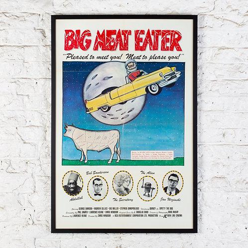 BIG MEAT EATER - ORIGINAL US ONE SHEET