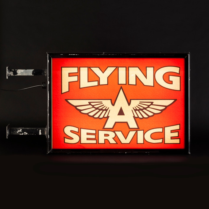 FLYING A SERVICE LIGHTBOX