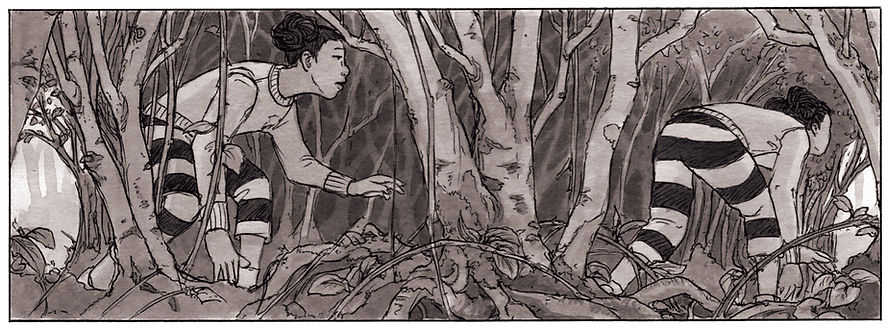 From Wildful, a graphic novel by Kengo Kurimoto