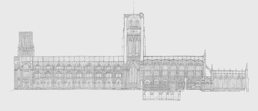 Gothic Cathedral Kengo Kurimoto