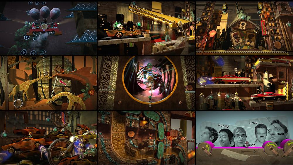 LittleBigPlanet Levels Kengo Kurimoto