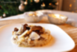 recept romige risotto met paddenstoelen