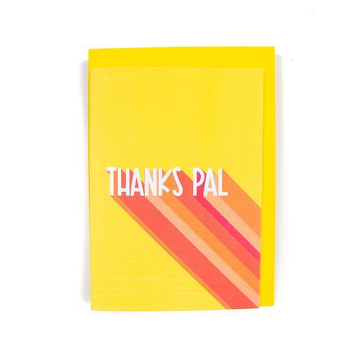Thanks Pal Scottish Card By Ryan McEwan Photography