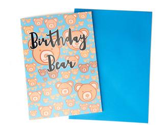 Birthday Bear Card