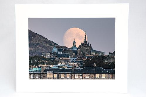 Edinburgh Moonrise