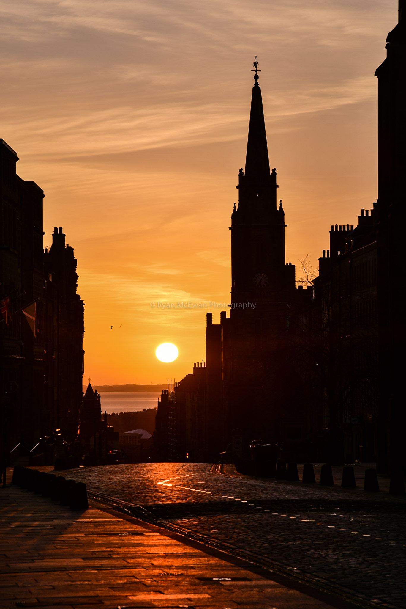 Royal Mile Sunrise