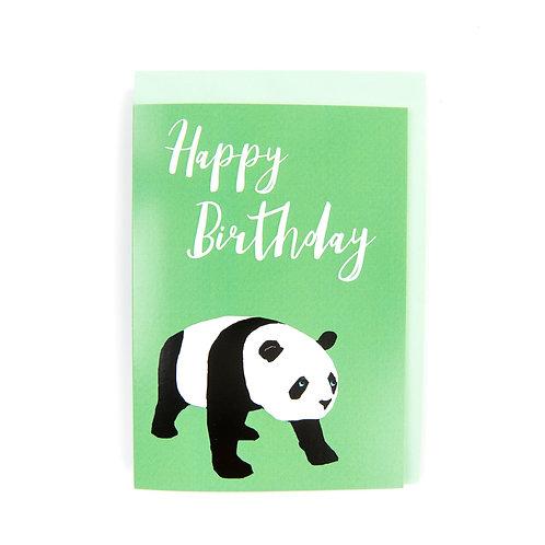 Panda Birthday Card by Ryan McEwan Photography Edinburgh