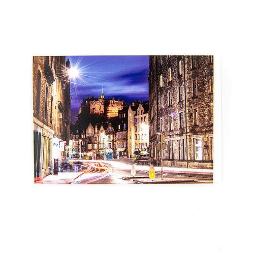 Edinburgh Grassmarket Card by Ryan McEwan Photography