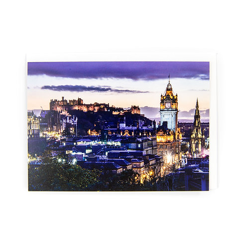 Edinburgh Skyline Card by Ryan McEwan Photography