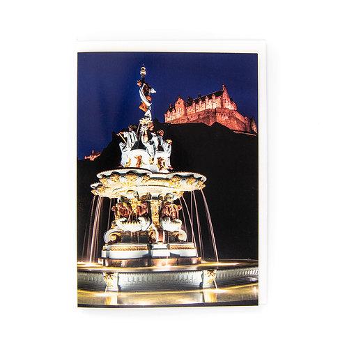 Ross Fountain Edinburgh Card by Ryan McEwan Photography