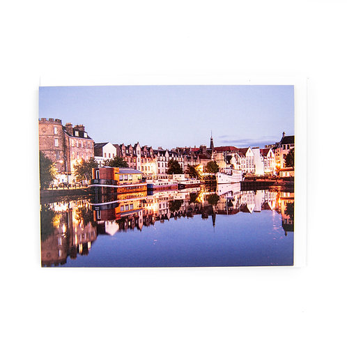 The Shore Leith Edinburgh card by Ryan McEwan Photography