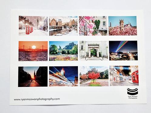 2022 Edinburgh Wall Calendar