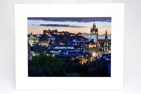 Edinburgh Skyline Print