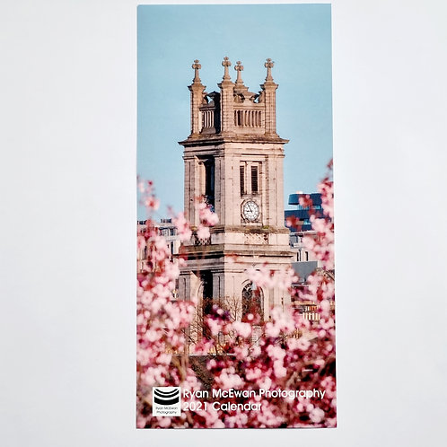 2022 Mini Edinburgh Wall Calendar