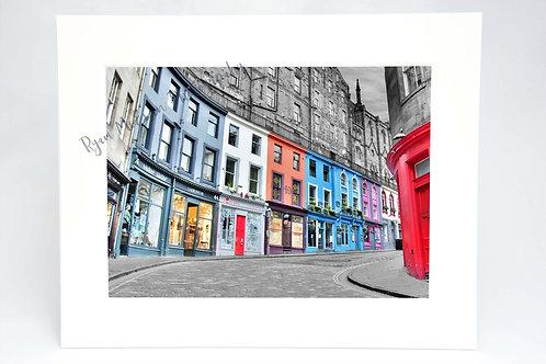 Victoria Street Edinburgh Print