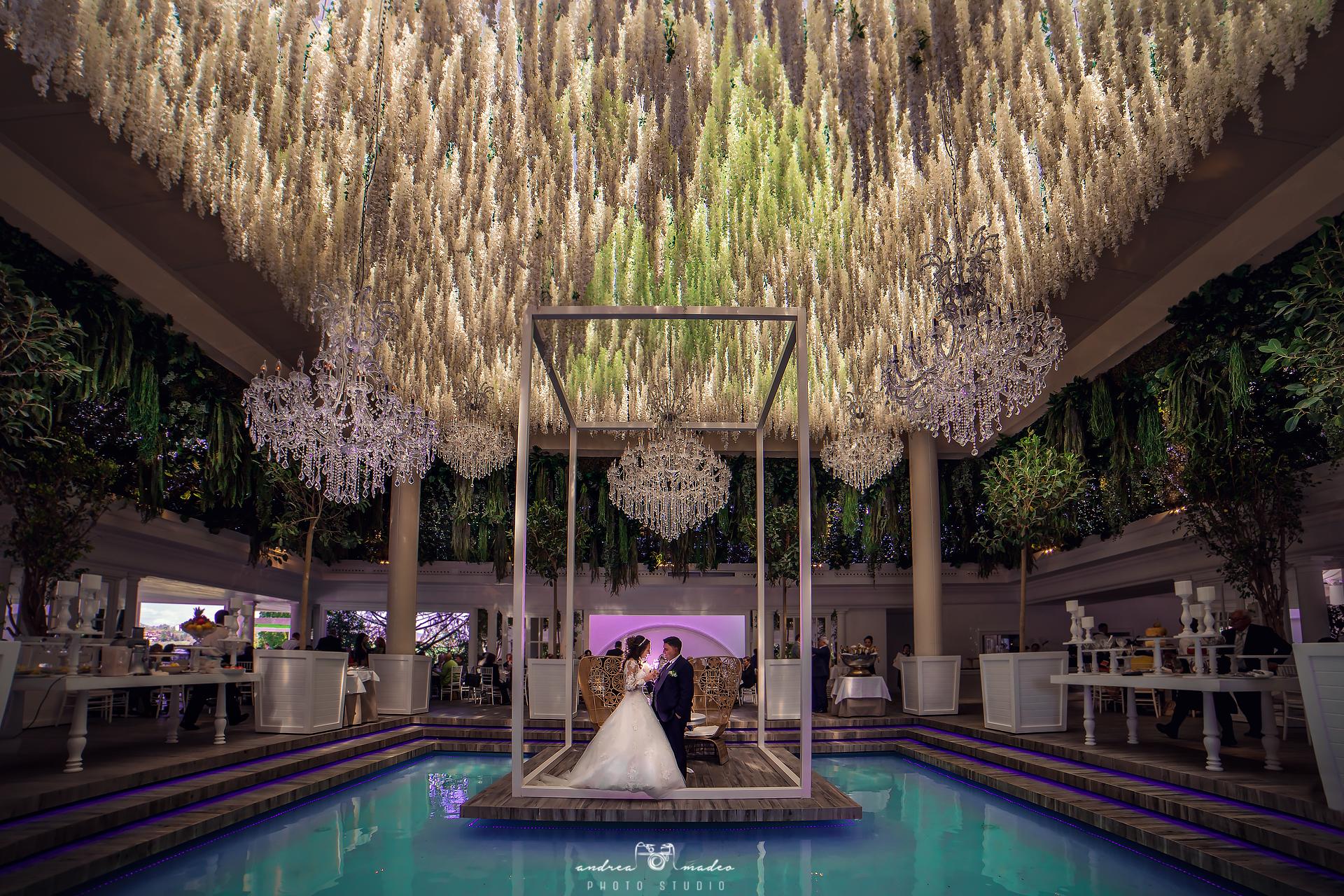 Matrimonio villa regina