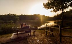 Matrimonio-riccia-lago