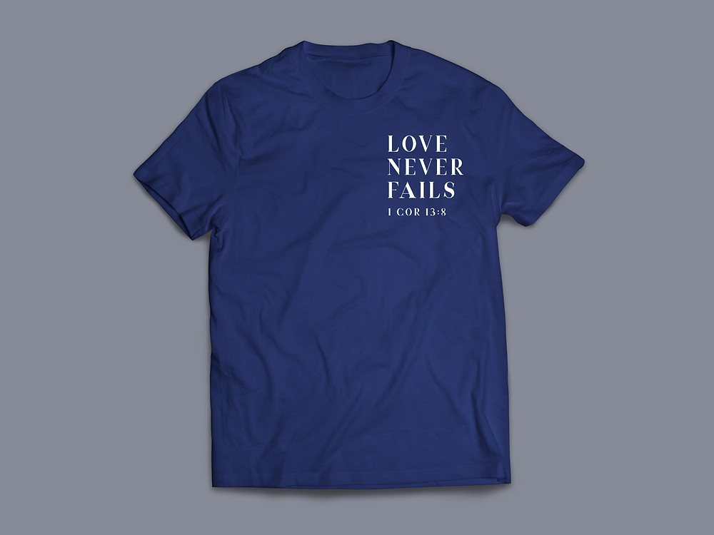 Stay Lit Apparel Christian Clothing Love never fails