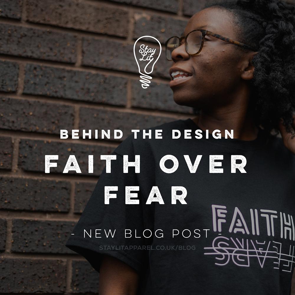 Christian blog post about faith over fear