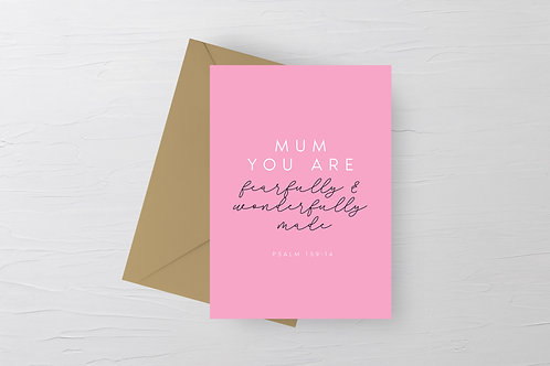 Christian Mother's Day Greetings Card