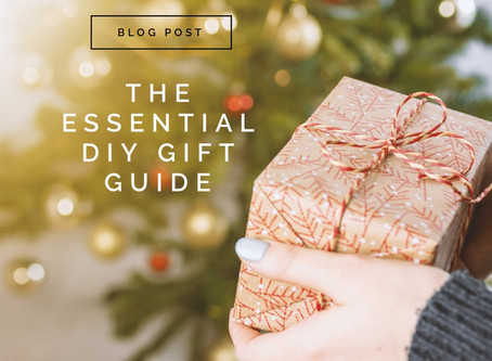 The Essential DIY Gift Guide