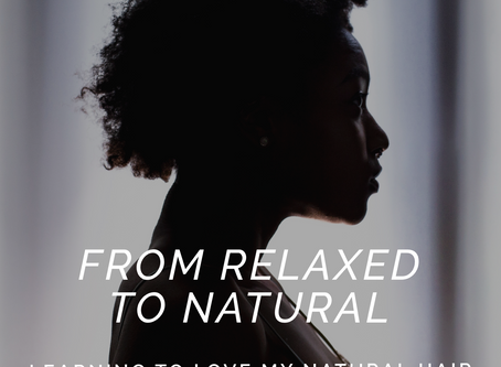 Learning To Love My Natural Hair - AfroHairTips #featured