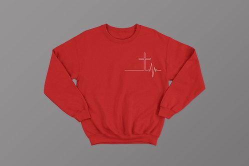 Jesus Cross Christian Sweatshirt