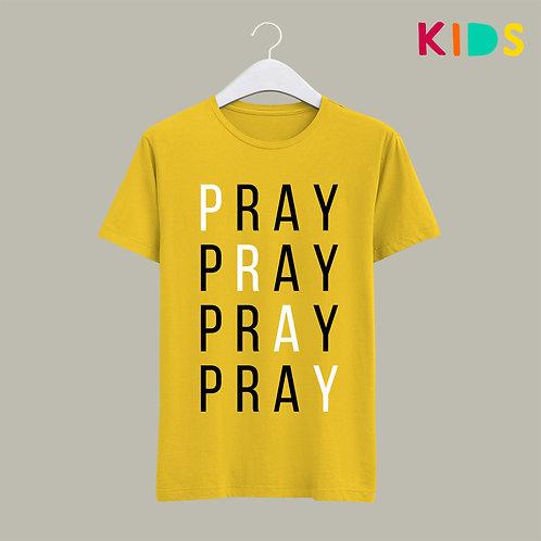 Pray Christian Kids T-shirt