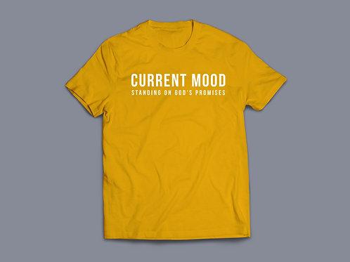 Current Mood Standing on Gods promises T-Shirt, Christian T Shirt UK