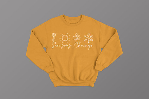 Seasons Change Christian Sweatshirt UK, Christian Slogan Clothing
