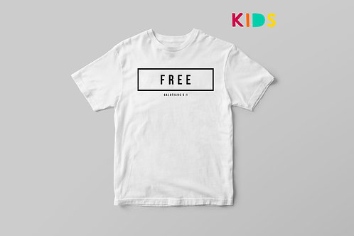 Free Christian Clothing Kids T-shirt Stay Lit Apparel UK