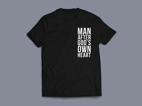 Man after God's own heart Christian T-shirt