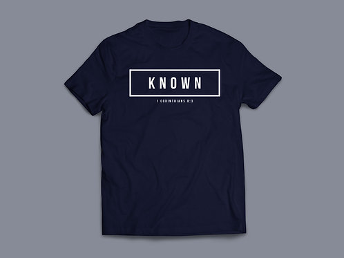 Known Christian Bible Verse T-shirt Christian Apparel by Stay Lit Apparel UK
