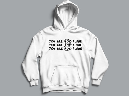 You are not alone Christian Hoodie